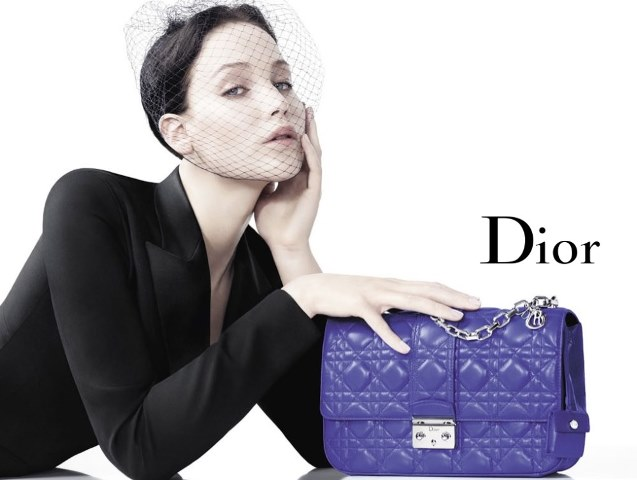 Jennifer Lawrence per la campagna P/E 2013 di Miss Dior