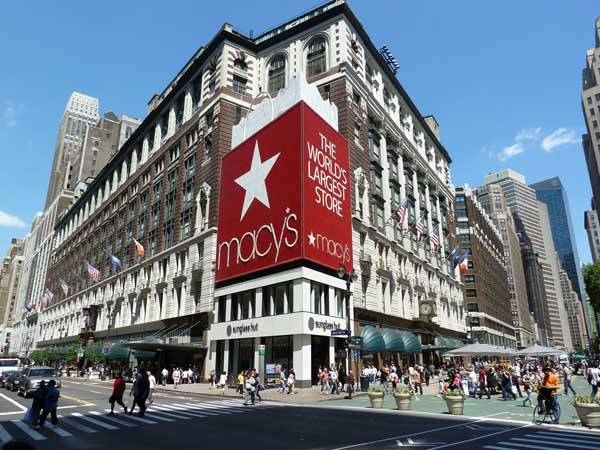 Lo store Macy's a New York