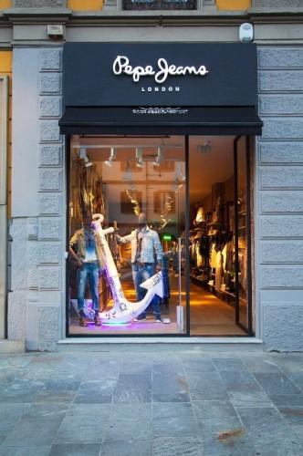 Pepe Jeans London store Milano