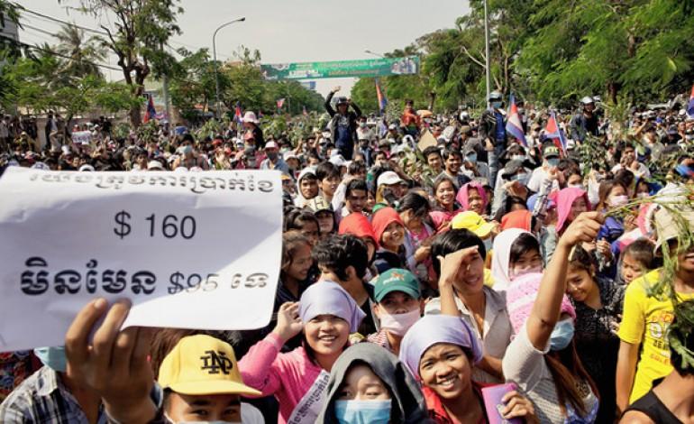 Gli scioperi allontanano Levi's dalla Cambogia