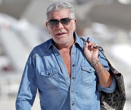 Roberto Cavalli a Miami. (ph: Kaffee/Monnet. Pacific Coast News)