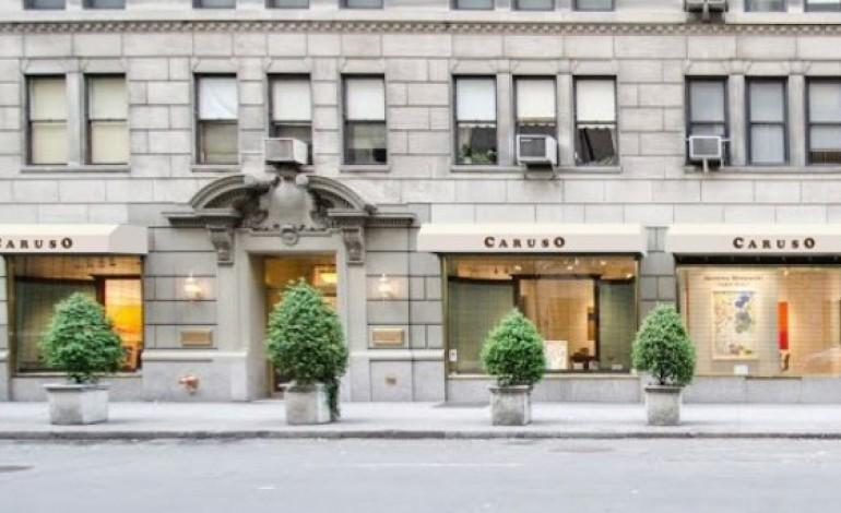 Caruso, autunno (con opening) in NY