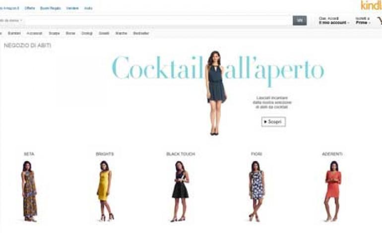 Amazon, il portale moda apre in Italia