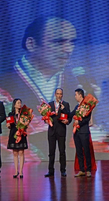 Giancarlo Tafuro riceve il premio