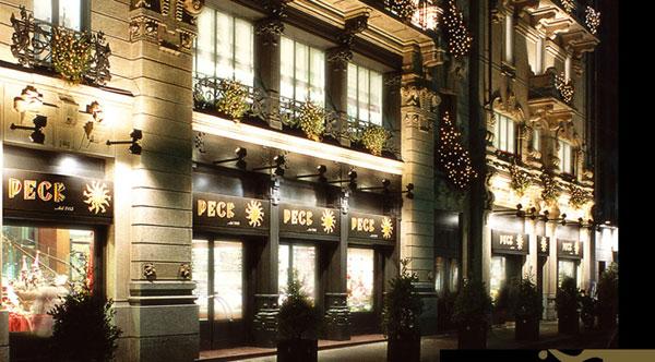 L'esterno di Peck a Milano