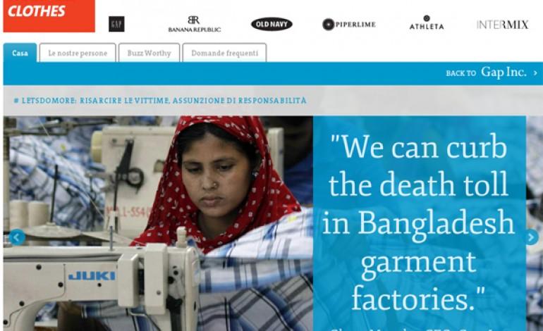 Gap, un sito per il Bangladesh. Ma è un fake