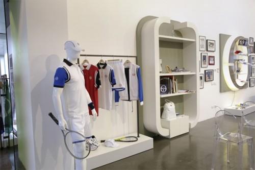 Showroom milanese di Sergio Tacchini