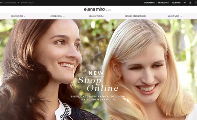 Elena Mirò debutta nello shopping online