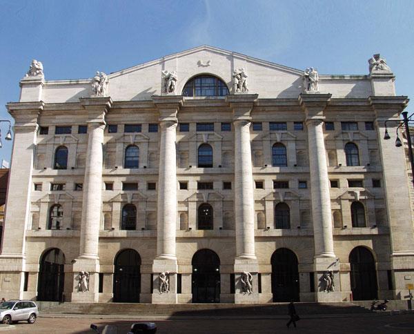 Palazzo Mezzanotte - Sede di Borsa Italiana