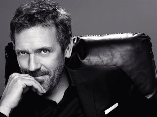 Hugh Laurie è il testimonial dei prodotti L'Oréal Paris Men Expert