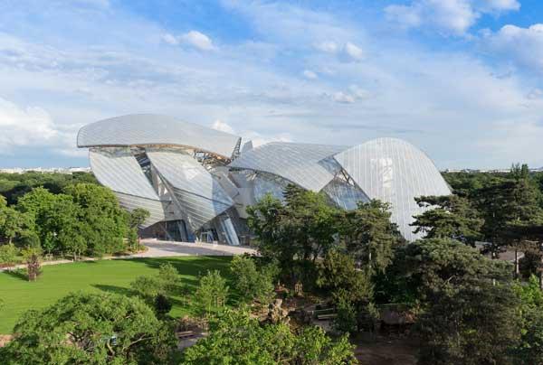 La Fondazione Louis Vuitton (ph. by Iwan Baan)