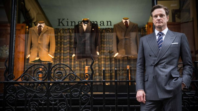 """Colin Firth in """"Kingsman: The Secret Service"""""""