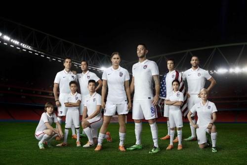 La nazionale statunitense di calcio veste Nike