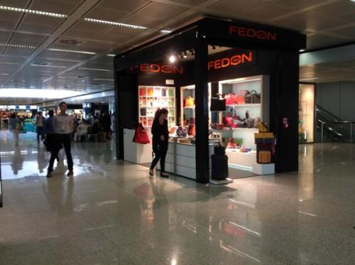 Fedon, aeroporto Roma