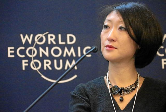Fleur Pellerin al World Economic Forum 2013