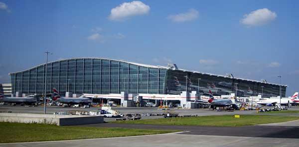Il terminal 5 di Heathrow