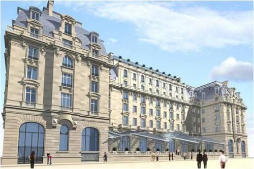 The Peninsula Hotel Paris - Rendering
