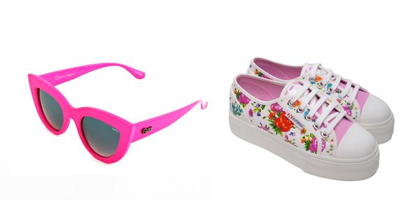 Occhiali Ops!Kitti e sneaker Superga for Ops!