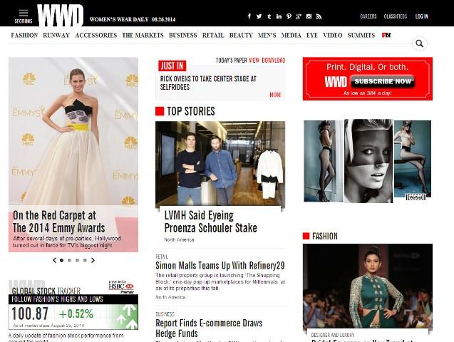 Home page Wwd