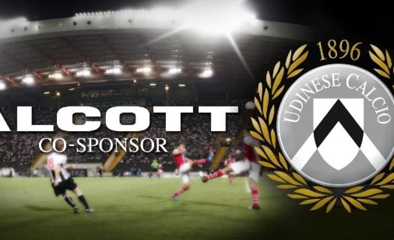 Alcott gioca in serie A con Udinese Calcio