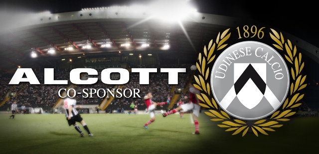 Alcott sponsor Udinese