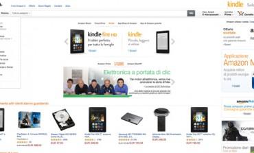 Amazon debutta a Natale con vetrina a Manhattan