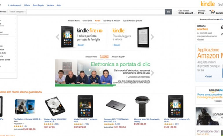 """In Europa arriva """"Login and Pay with Amazon"""""""