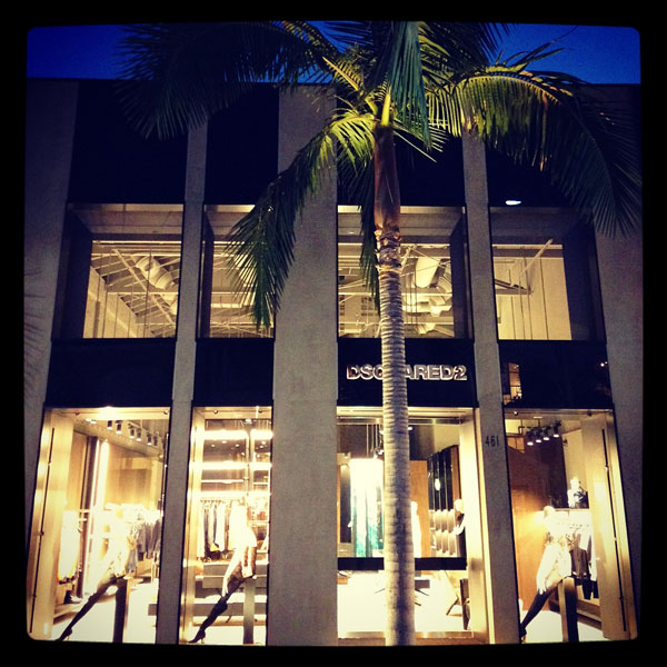 Dsquared2 a Beverly Hills