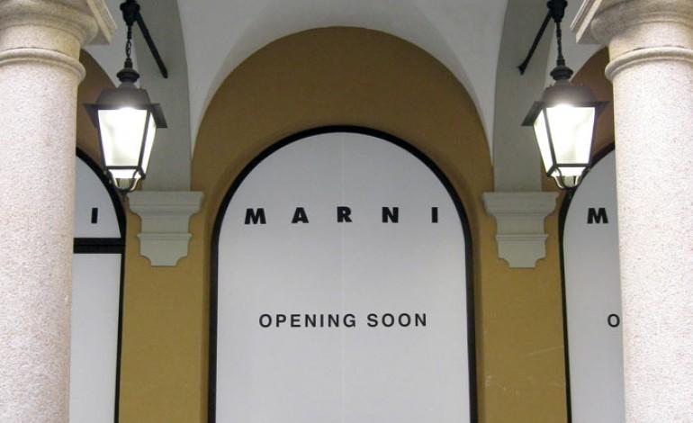 Nuovo store Marni in Montenapo