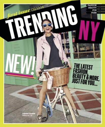 La copertina del primo numero di TrendingNY