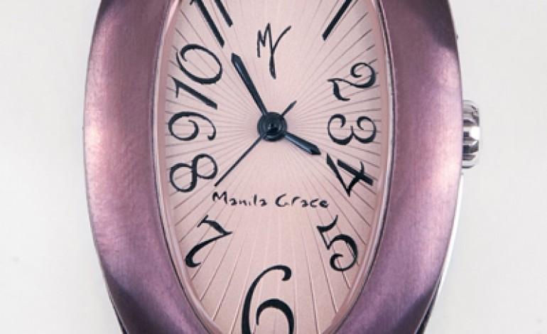 Manila Grace debutta negli orologi