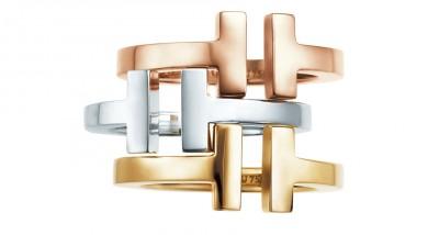 Un modello della nuova collezione Tiffany