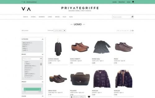Pagine web da Privategriffe.com