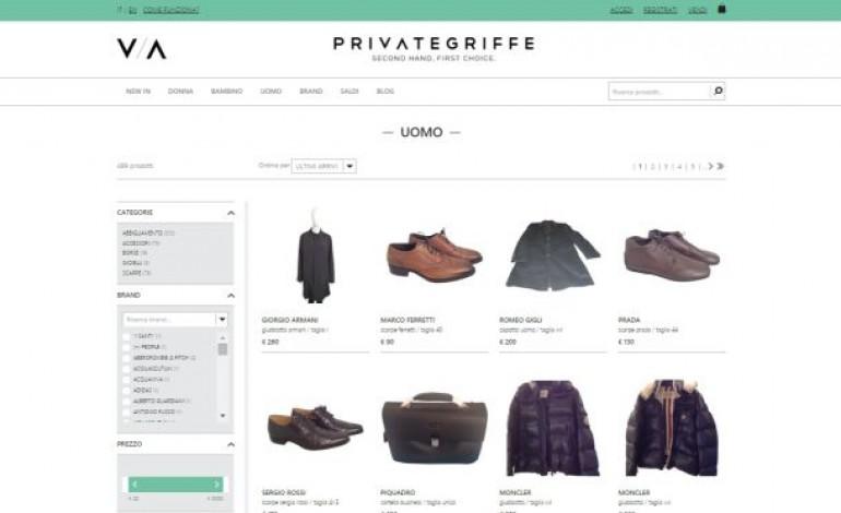 Privategriffe.com apre all'uomo