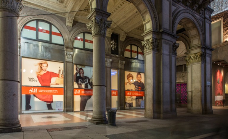 """H&M presenta il suo 'palazzo'. """"Italia ad alto potenziale"""""""