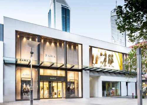 Zara store a Perth, Australia