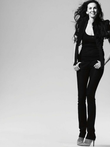 L'Wren Scott (ph,Bryan Adams)
