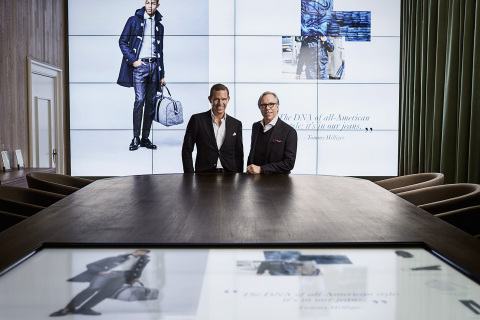 Tommy-Hilfiger-and-Daniel-Grieder-in-the-Digital-Showroom