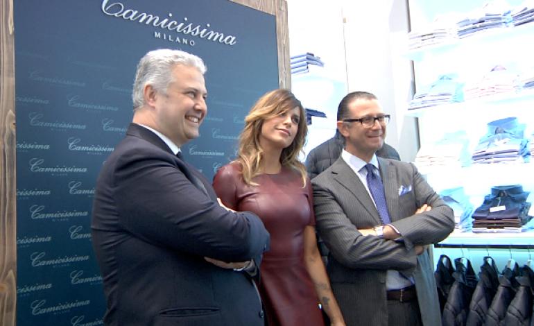 Camicissima brinda all'opening in San Babila