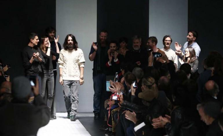 Gucci prepara l'ultima sfilata in Piazza Oberdan