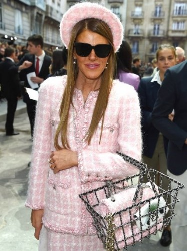 attends the Chanel show as part of the Paris Fashion Week Womenswear Spring/Summer 2015 on September 30, 2014 in Paris, France.