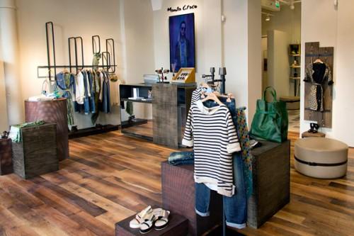Il negozio di Manila Grace in via Manzoni, a Milano