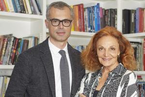 Paolo Riva e Diane von Furstenberg