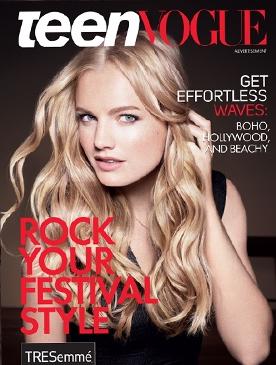 La copertina di Teen Vogue.