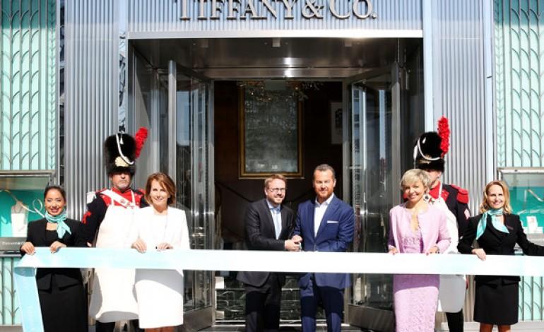 Boutique a Ginevra per Tiffany & Co.