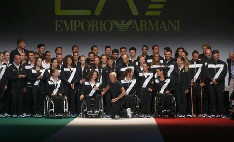 Armani veste gli azzurri per Rio 2016