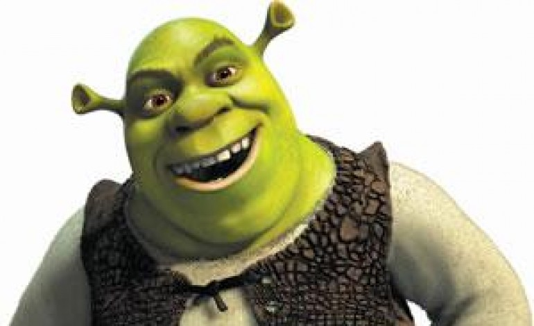 L'uomo sfila a New York assieme a Shrek