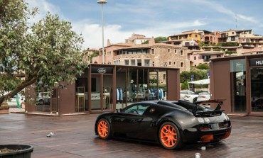 Bugatti: pop-up store a Porto Cervo