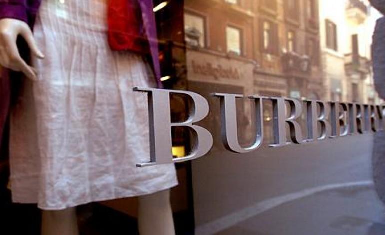 Burberry a +10%, ma l'Asia è debole