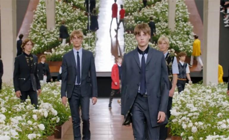 Brunschwig guiderà Dior Homme